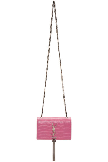 Saint Laurent - Pink Small Monogram Kate Bag