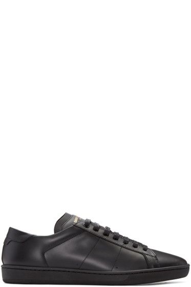Saint Laurent - Black SL/01 Court Classic Sneakers
