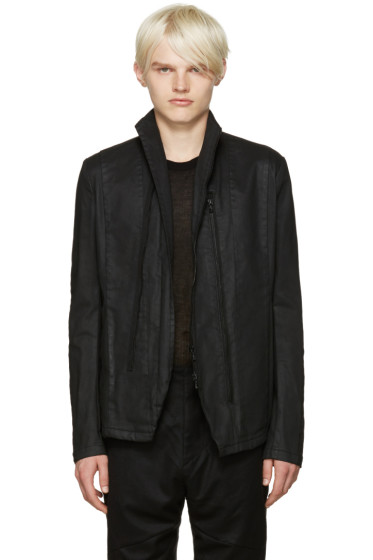 Julius - Black Stretch Denim Jacket