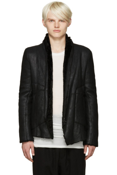 Julius - Black Shearling Jacket