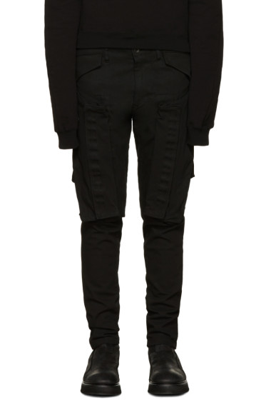 Julius - Black Pocket Jeans