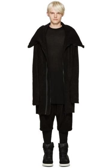 Julius - Black Multi Zip Hoodie