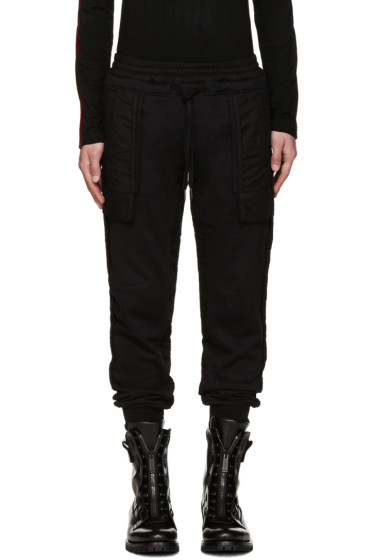 KTZ - Black Inside-Out Lounge Pants