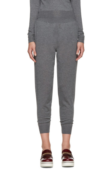 Stella McCartney - Grey Wool Lounge Pants