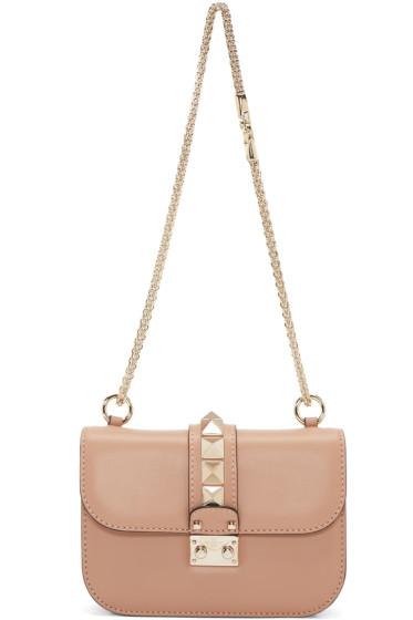 Valentino - Beige Small Lock Bag