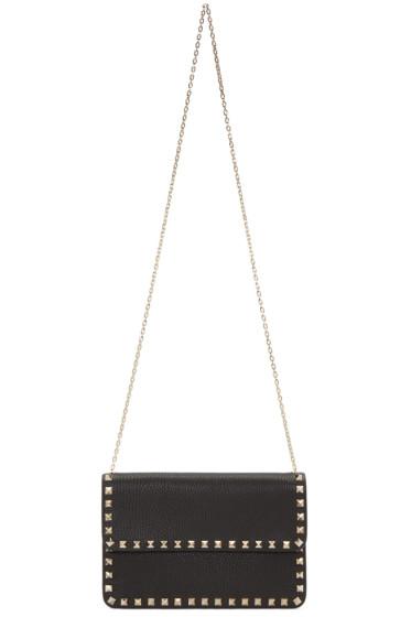 Valentino - Black Rockstud Shoulder Bag
