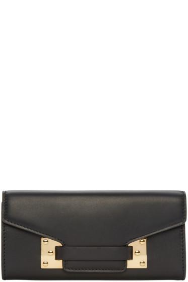 Sophie Hulme - Black Wilner Flap Wallet