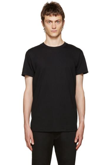 Naked & Famous Denim - Black Seamless T-Shirt