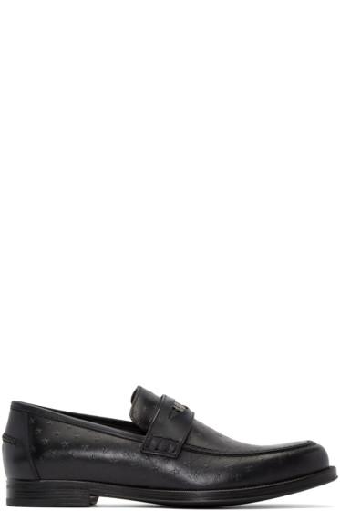 Jimmy Choo - Black Star Darblay Loafers