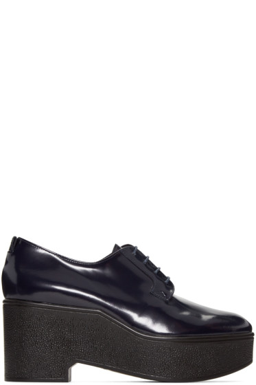 Robert Clergerie - Navy Xonca Derbys