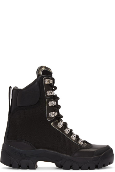 Marcelo Burlon County of Milan - Black Compact Boots