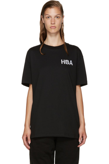 Hood by Air - Black Logo T-Shirt