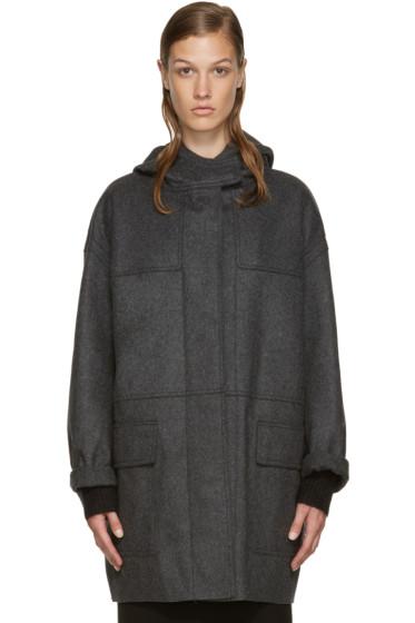Isabel Marant Etoile - Grey Elton Caban Coat