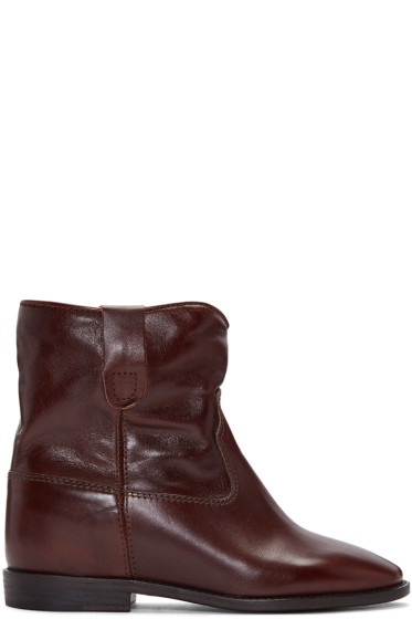 Isabel Marant - Brown Cluster Boots