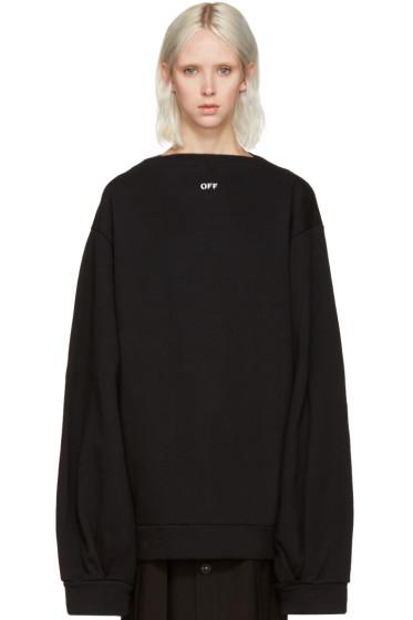 Off-White - Black Separate Collar Pullover