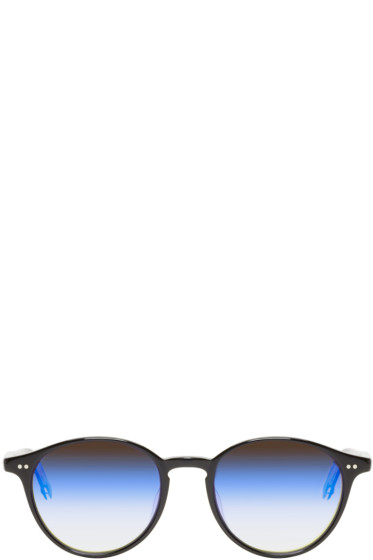 Garrett Leight - Black Mirrored Pacific Sunglasses