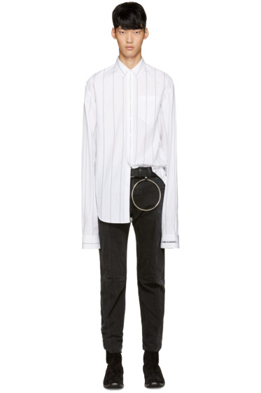 Vetements - White Striped Shirt