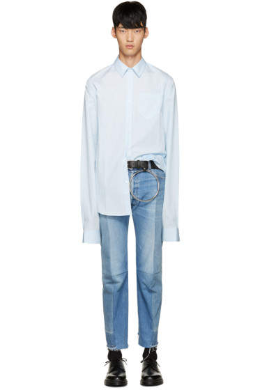 Vetements - Blue Poplin Shirt