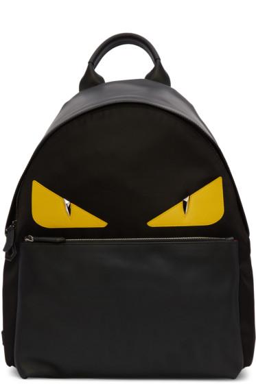 Fendi - Black Monster Backpack
