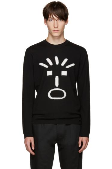Fendi - Black Fendi Face Sweater