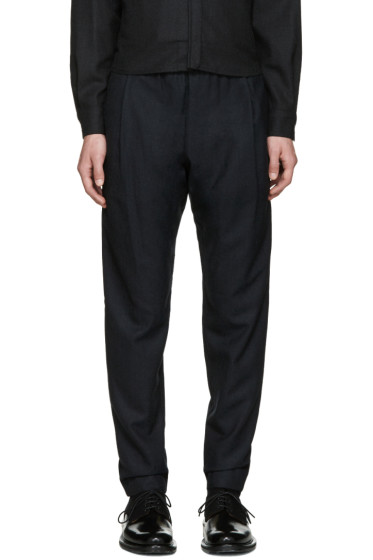 Stephan Schneider - Navy Tempera Trousers