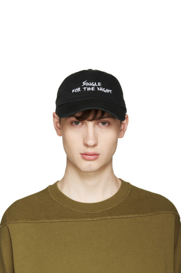 Nasaseaons - Black 'Single For The Night' Cap