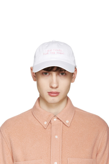 Nasaseaons - SSENSE Exclusive White 'I Am Yours' Cap