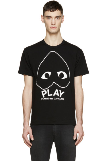 Comme des Garçons Play - Black Heart Logo T-Shirt