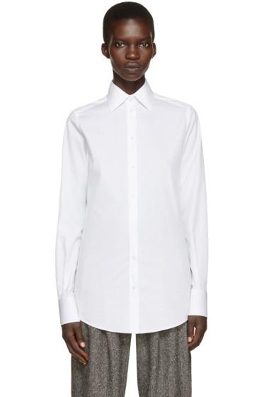 Dolce & Gabbana - White Poplin Shirt