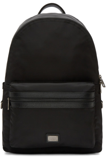 Dolce & Gabbana - Black Nylon Backpack