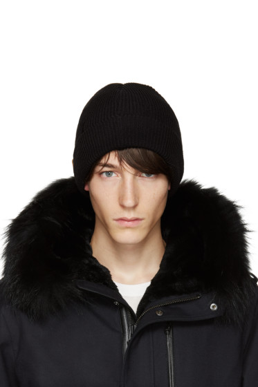 Mackage - Black Wool Taz Beanie
