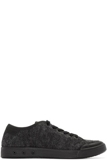 Rag & Bone - Grey Wool Standard Issue Sneakers