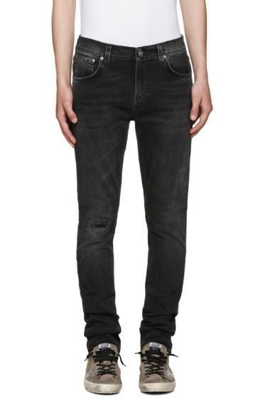 Nudie Jeans - Grey Lean Dean Jeans