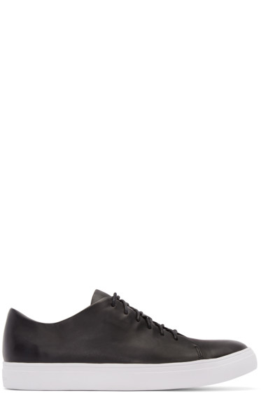 Tiger of Sweden - Black Leather Sneakers