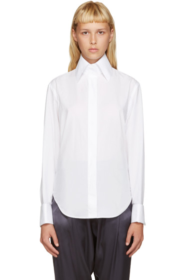 Acne Studios - White Poplin Slade Shirt