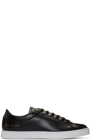 Common Projects - Black Retro Sneakers