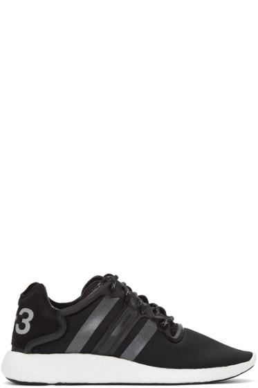 Y-3 - Black Yohji Run Sneakers