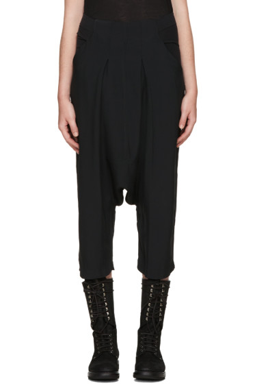 Rick Owens - Black Sarouel Trousers