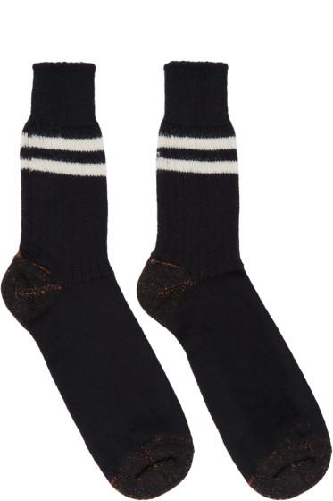 Junya Watanabe - Black Wool Socks