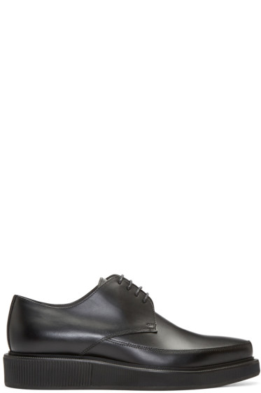 Lanvin - Black Leather Creepers
