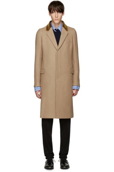 Alexander McQueen - Tan Wool Coat