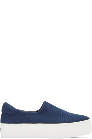 Opening Ceremony - Navy Platform Cici Sneakers