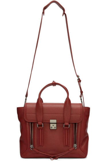 3.1 Phillip Lim - Red Medium Pashli Satchel