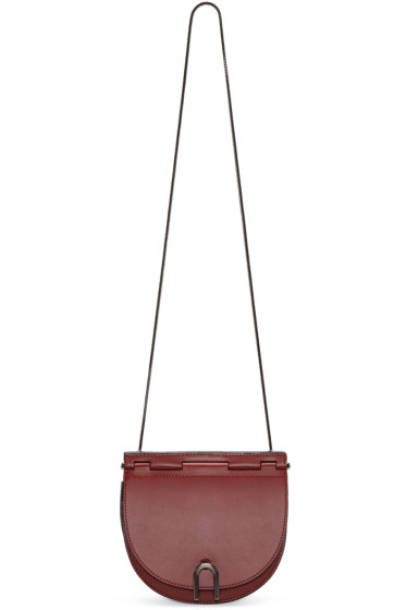 3.1 Phillip Lim - Red Hana Saddle Bag