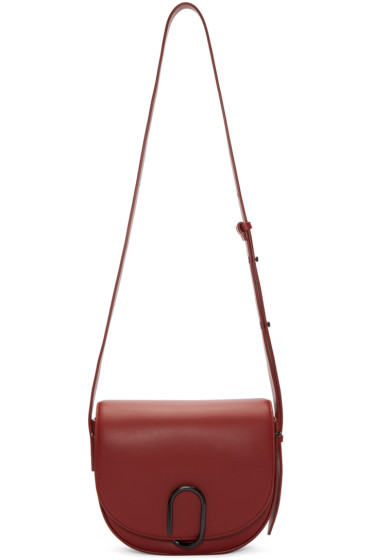 3.1 Phillip Lim - Red Alix Saddle Bag
