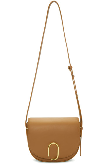 3.1 Phillip Lim - Tan Alix Saddle Bag