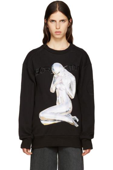 Juun.J - Black Sorayama Sweatshirt
