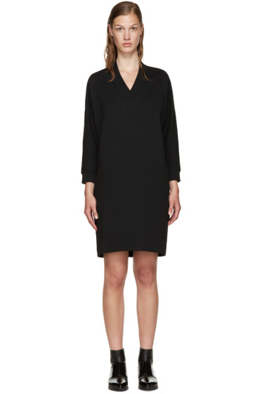 Kenzo - Black Knit Logo Dress