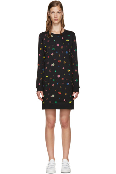 Kenzo - Black Tanami Flower Dress
