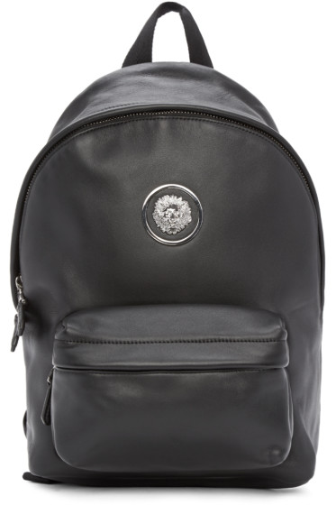 Versus - Black Lion Medallion Backpack